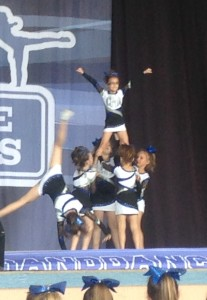 Kendall is in the air and Lily is tumbling!