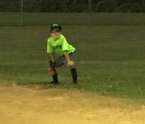 Playing the outfield