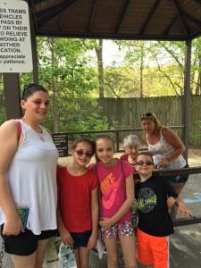 Wednesday- Amanda organized a zoo trip!
